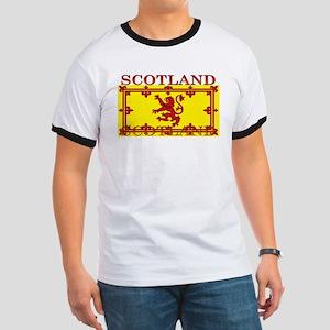 Scotland Scottish Flag Ringer T