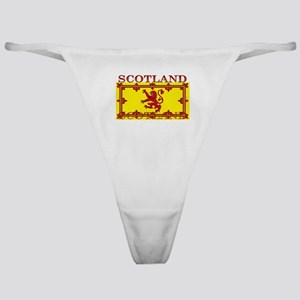 Scotland Scottish Flag Classic Thong