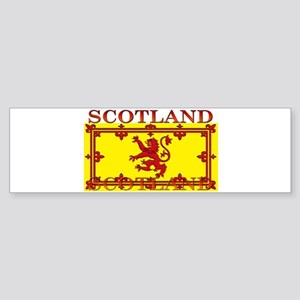 Scotland Scottish Flag Bumper Sticker