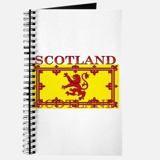 Scotland Scottish Flag Journal