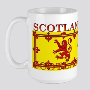 Scotland Scottish Flag Large Mug
