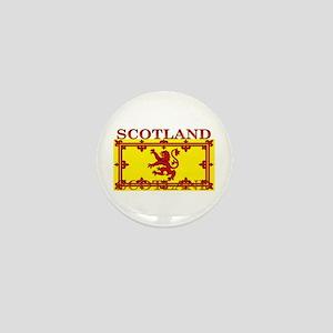 Scotland Scottish Flag Mini Button