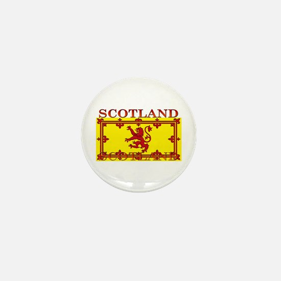 Scotland Scottish Flag Mini Button