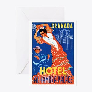 Granada Spain Greeting Card