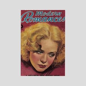 Alice Faye 1930s Rectangle Magnet