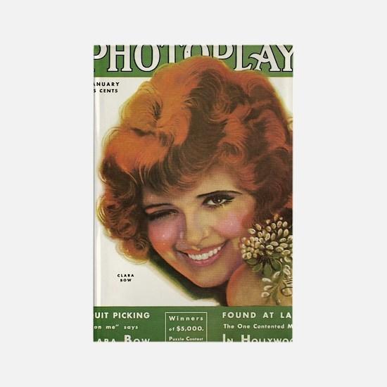 Clara Bow Winks 1931 Rectangle Magnet