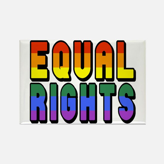 Equal Rights Rectangle Magnet