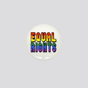 Equal Rights Mini Button