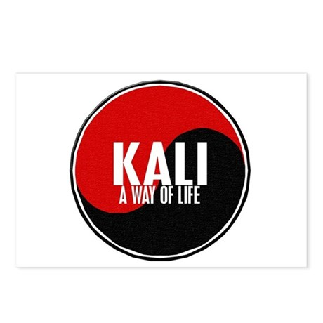 KALI A Way Of Life Yin Yang Postcards (Package of