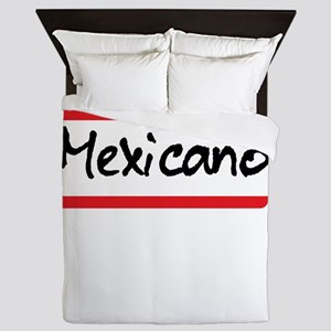 Mexicano Latino Halloween Costume Mexi Queen Duvet