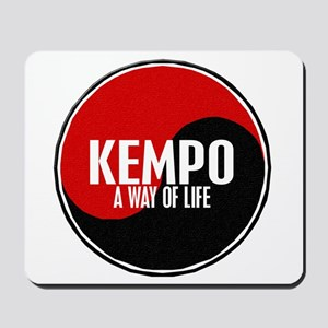 KEMPO A Way Of Life Yin Yang Mousepad