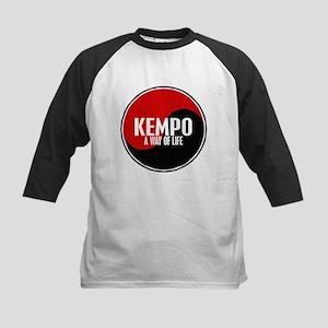 KEMPO A Way Of Life Yin Yang Kids Baseball Jersey