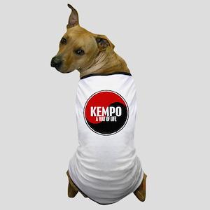 KEMPO A Way Of Life Yin Yang Dog T-Shirt