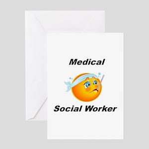 Medical Social Worker Greeting Card