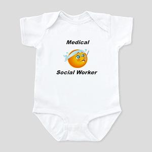 Medical Social Worker Infant Bodysuit