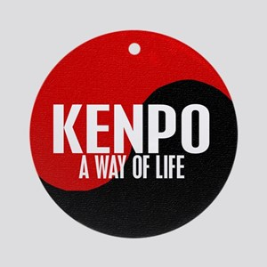 KENPO A Way Of Life Yin Yang Ornament (Round)