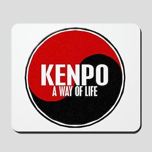 KENPO A Way Of Life Yin Yang Mousepad