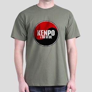 KENPO A Way Of Life Yin Yang Dark T-Shirt