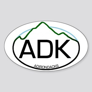 ADK Oval Oval Sticker