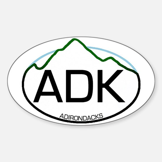 ADK Oval Oval Decal