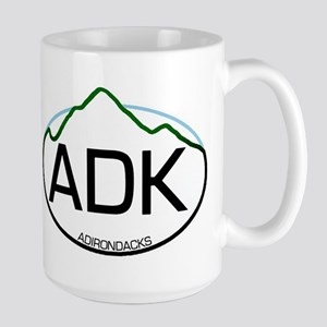 ADK Oval Large Mug