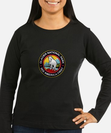 Glacier National Park Montana T-Shirt