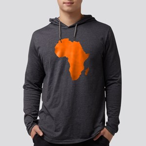 Continent of Africa Long Sleeve T-Shirt