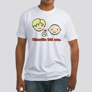 Charlie Bit Me! Fitted T-Shirt
