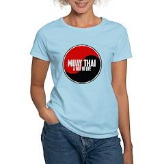 MUAY THAI Way Of Life Yin Yang Women's Light T-Shi