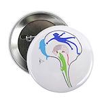 "Evolved Brain 2.25"" Button"