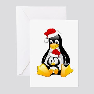 Tux, The Christmas Penguins Greeting Cards (Packag