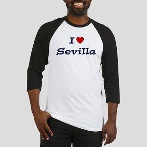 I HEART SEVILLA Baseball Jersey