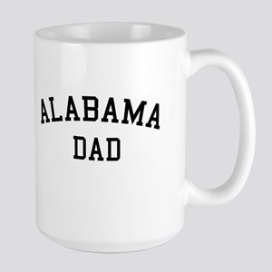 Alabama Dad Large Mug