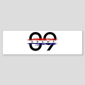 Obama Rocks '09 Bumper Sticker