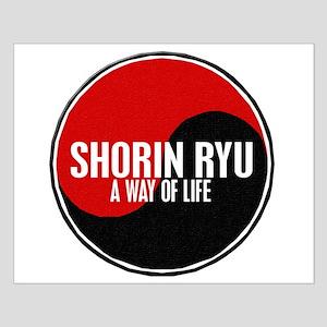SHORIN RYU Way Of Life Yin Yang Small Poster