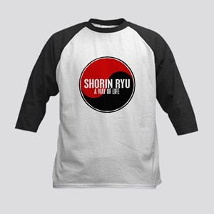 SHORIN RYU Way Of Life Yin Yang Kids Baseball Jers