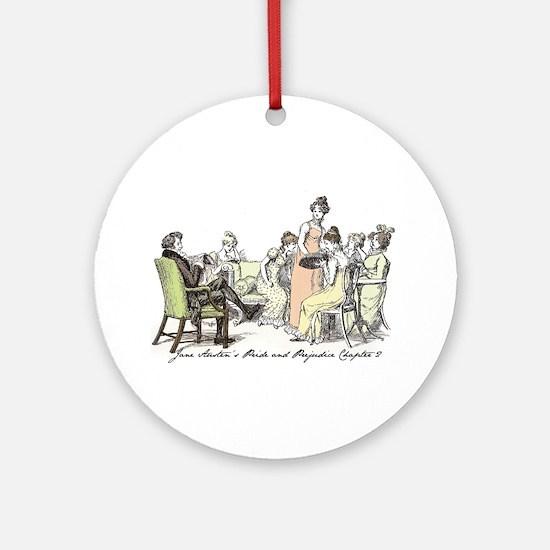 Hugh Thompson Ch 2 Ornament (Round)