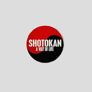 SHOTOKAN Way Of Life Yin Yang Mini Button