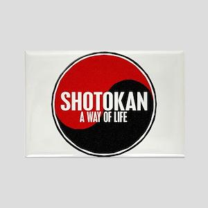 SHOTOKAN Way Of Life Yin Yang Rectangle Magnet
