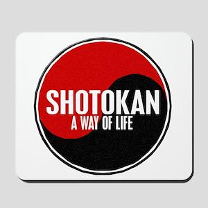 SHOTOKAN Way Of Life Yin Yang Mousepad