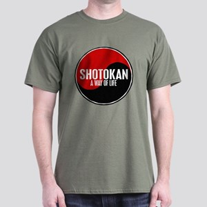 SHOTOKAN Way Of Life Yin Yang Dark T-Shirt