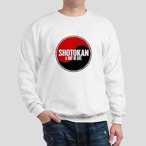 SHOTOKAN Way Of Life Yin Yang Sweatshirt
