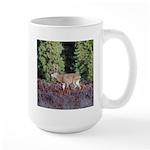 Buck in Afternoon Sunlight Large Mug