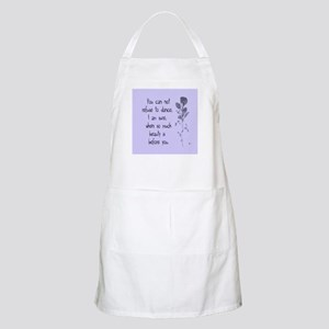 Refuse To Dance BBQ Apron
