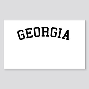 Georgia Rectangle Sticker