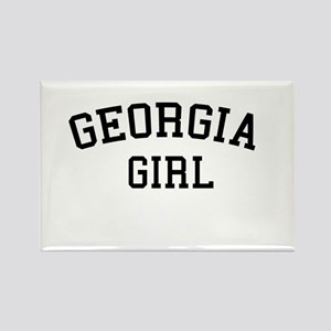 Georgia Girl Rectangle Magnet