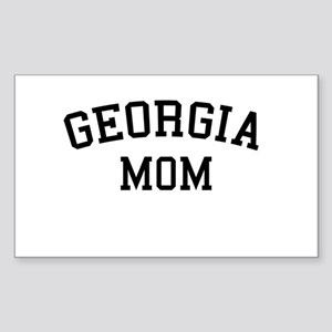 Georgia Mom Rectangle Sticker