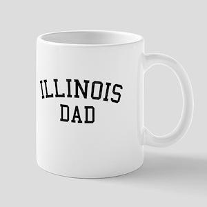 Illinois Dad Mug