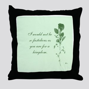 Fastidious Throw Pillow