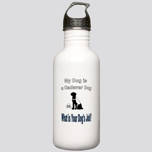 I'm a cadaver dog Water Bottle